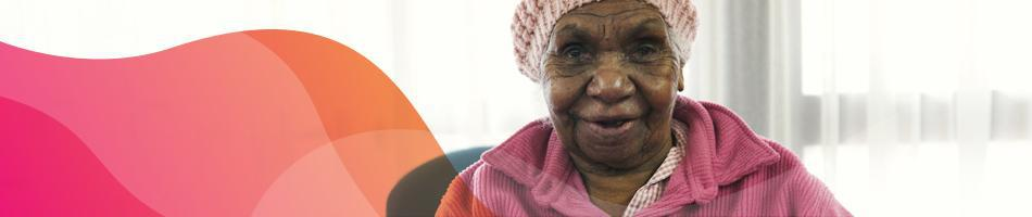 Elderly Aboriginal and/or Torres Strait Islander woman