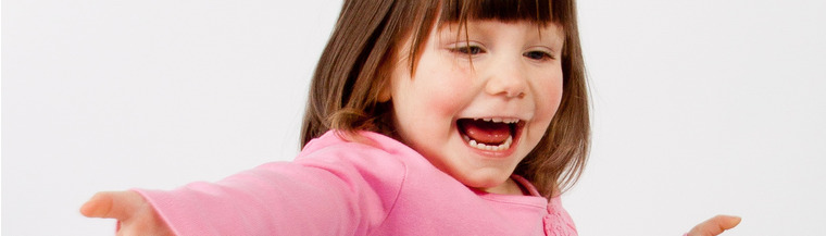 Children with Angelman syndrome often laugh and smile for no apparent reason.