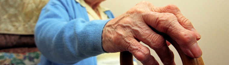 Using a walking stick or cane to assist with walking can help to control arthritis symptoms.