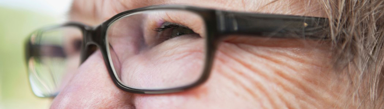Glasses may help improve vision in the early stages of cataracts.