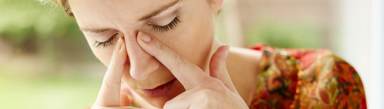 A blocked nose caused by a deviated septum can affect your breathing.