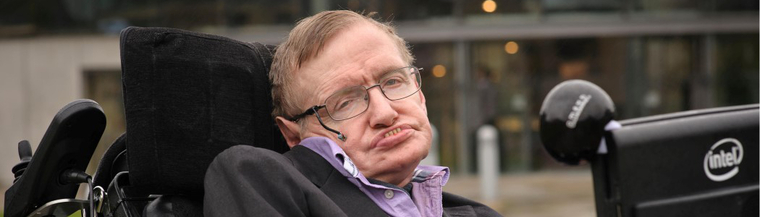 Stephen Hawking has helped raise awareness of MND