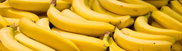 Tree fruits such as bananas, are rich in potassium.