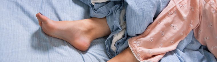 Restless legs syndrome causes you to have an urge to move your legs