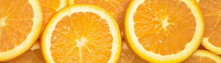 Vitamin C can be found in oranges