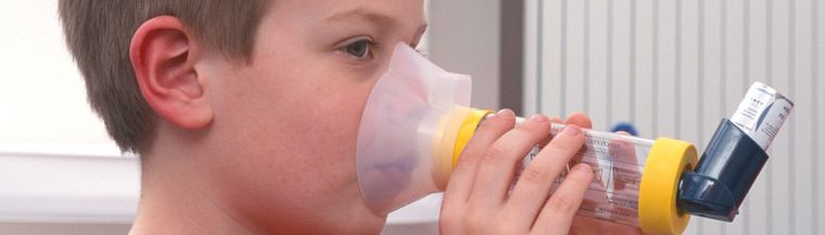 Asthma symptoms include a cough, wheezing, chest tightness and breathlessness.