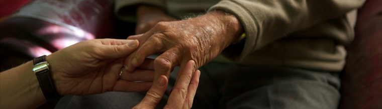 Caring for someone with dementia.