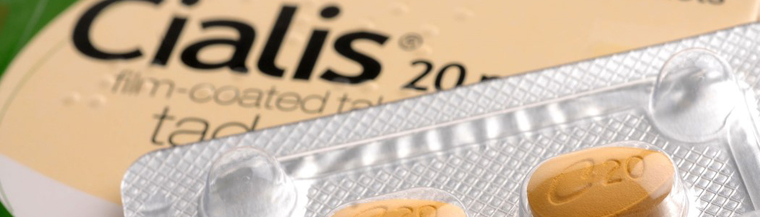 Cialis is an erectile dysfunction medicine.