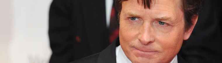 Actor Michael J. Fox was diagnosed with Parkinson's disease at 29.