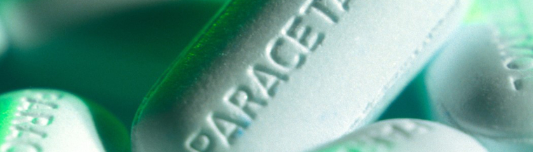 Paracetamol is a pain relief medicine.