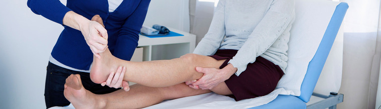 Physiotherapy can help treat problems with pain or movement.