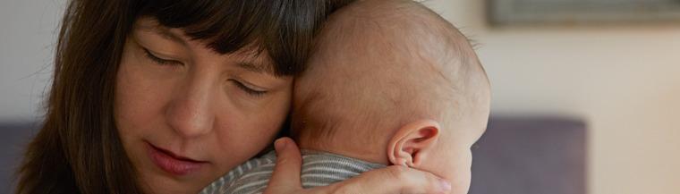 Mother and her baby - Postnatal depression