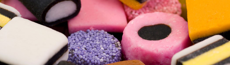 Photo of liquorice all sorts.