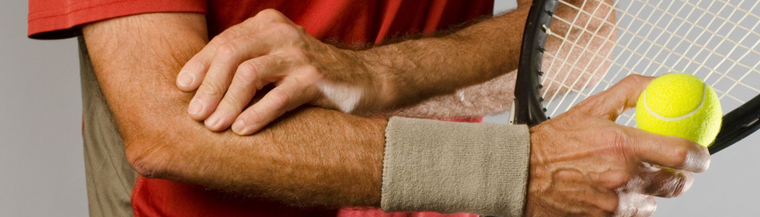 Tennis elbow is caused by damage to a tendon in the arm.