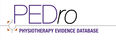 PEDro – Physiotherapy Evidence Database