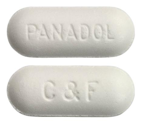 view of Panadol Cold and Flu Relief Original Formula