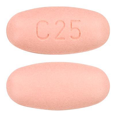 view of Olmetec Plus 40/25 mg