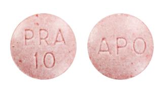 view of Pravastatin Sodium (GenRx)