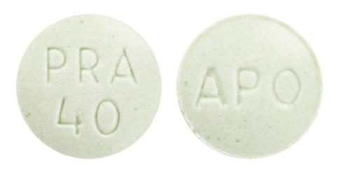view of Pravastatin Sodium (GenRx)