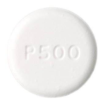 view of Paracetamol (Alphapharm)