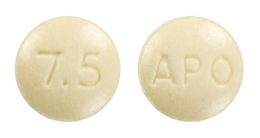 view of Meloxicam (Apo)