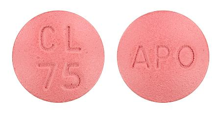 view of Clopidogrel (Chemmart)