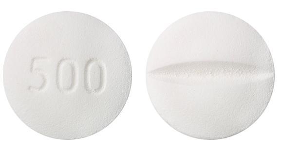 view of Metformin Hydrochloride (Pharmacor)