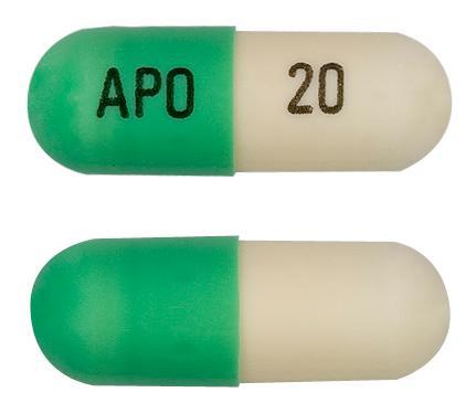 view of Fluoxetine (Pharmacor)