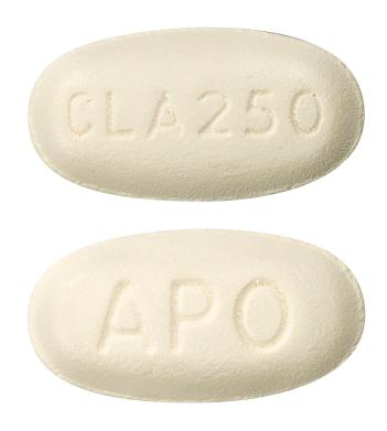 view of Clarithromycin (Chemmart)