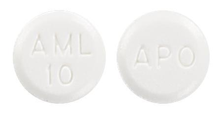 view of Amlodipine (Apo)