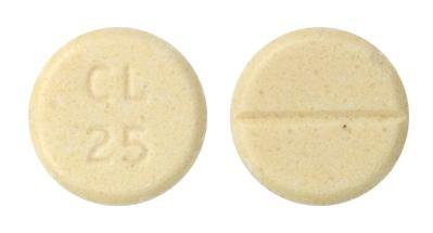 view of Tetrabenazine (Valeant)