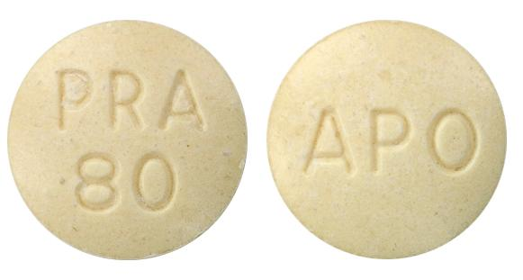 view of Pravastatin Sodium (Apo)