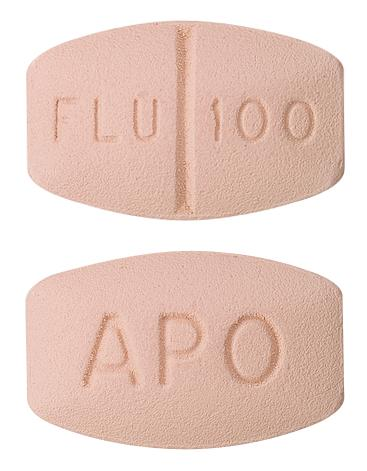 view of Fluvoxamine Maleate (Apo)
