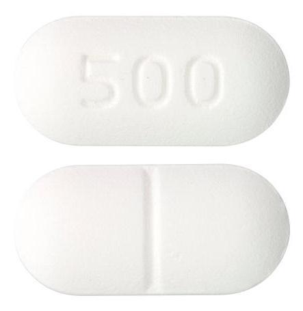 view of Metformin Hydrochloride (Sandoz)