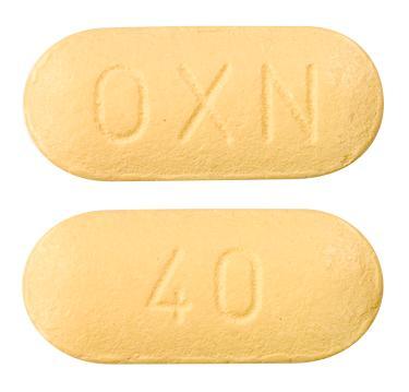 view of Targin 40/20 mg