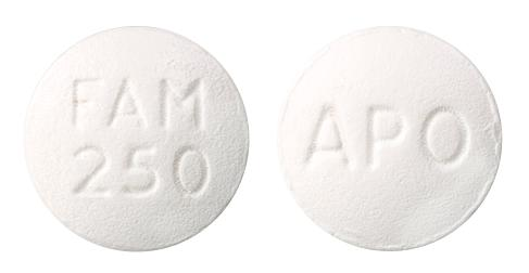view of Famciclovir (Apo)
