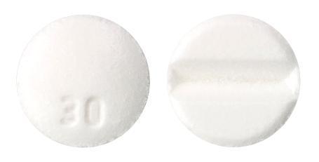 view of Oxazepam (Apo)