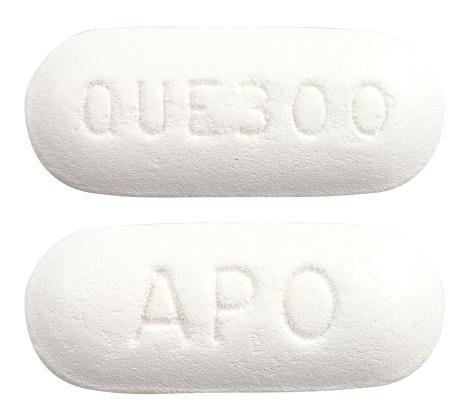 view of Quetiapine (Chemmart)