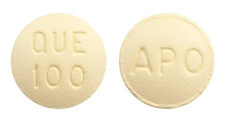 view of Quetiapine (Apo)