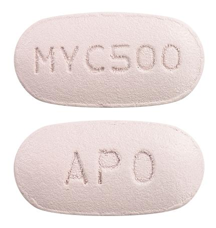 view of Mycophenolate Mofetil (Apo)