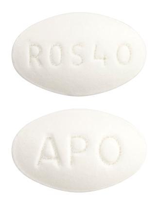 view of Rosuvastatin (Terry White Chemists)