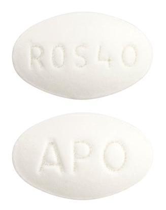 view of Rosuvastatin (Apo)