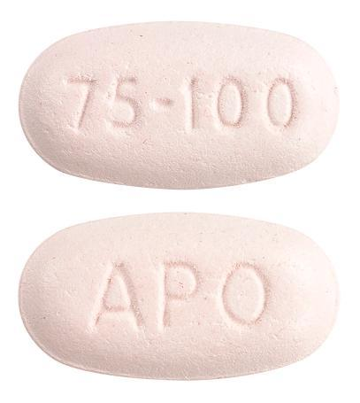 view of Clopidogrel/Aspirin 75/100 (Apo)