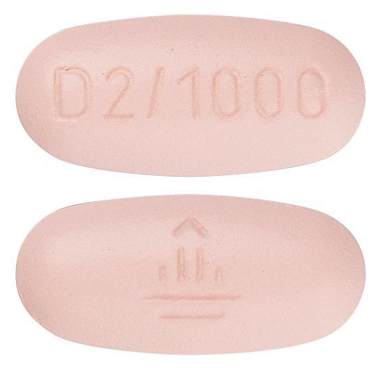 view of Trajentamet 2.5 mg/1000 mg
