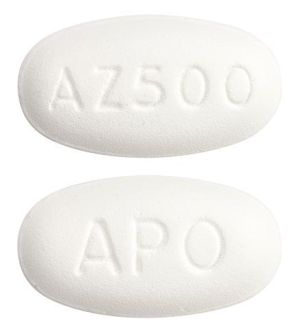 view of Azithromycin (Apo)