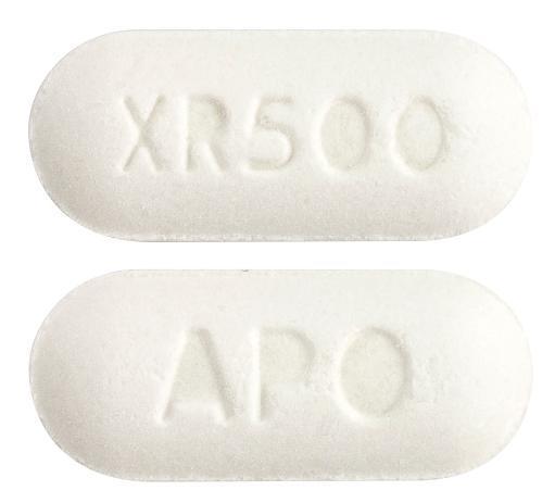 view of Metformin XR (Apotex)