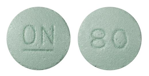view of Oxycontin