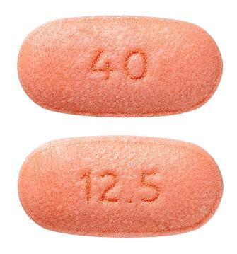 view of Telmisartan/HCT 40 mg/12.5 mg (Sandoz)