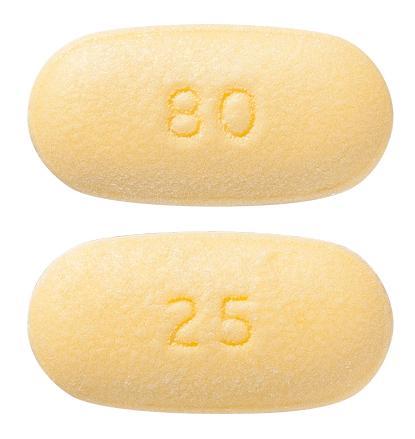 view of Telmisartan/HCT 80 mg/25 mg (Sandoz)