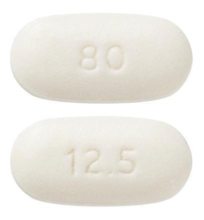 view of Telmisartan/HCT 80 mg/12.5 mg (Sandoz)